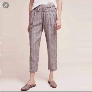 Anthropologie Hei Hei Linen Pants